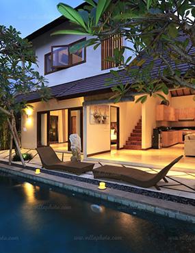Desa Di Bali A Village In Bali
